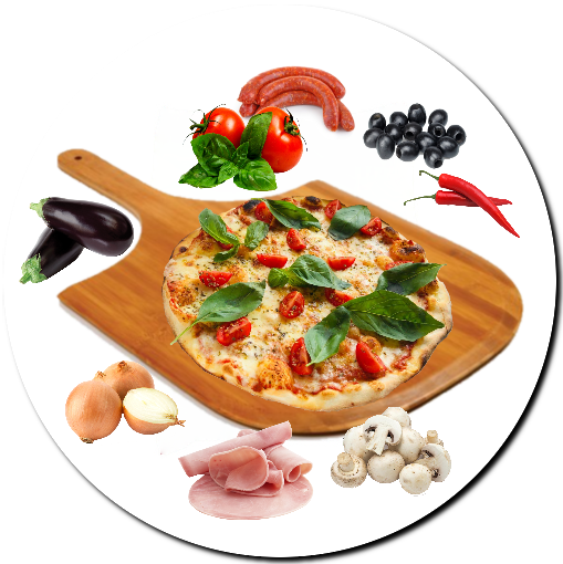 Pizza Do-it Yourself composée Halal